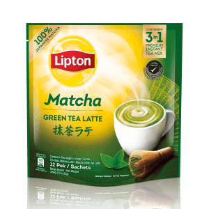 Lipton Matcha Green Tea Latte
