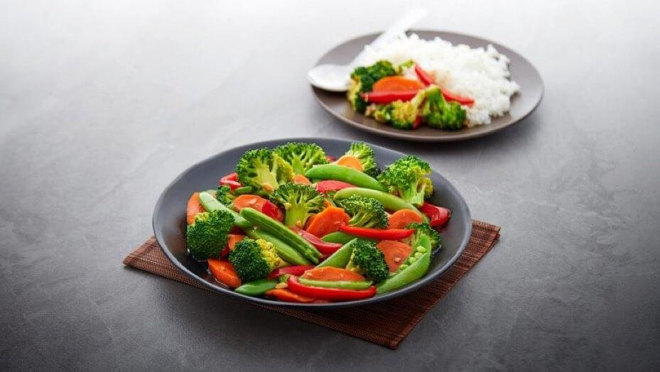 Crunchy Vegetable Stir Fry