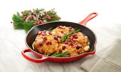 Cranberry Rosemary One Pan Chicken