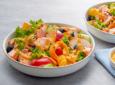 Salmon Peach Salad