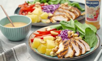Salad Ayam Kacang Gajus Halia