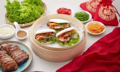 Grilled Sesame Chicken Gua Bao