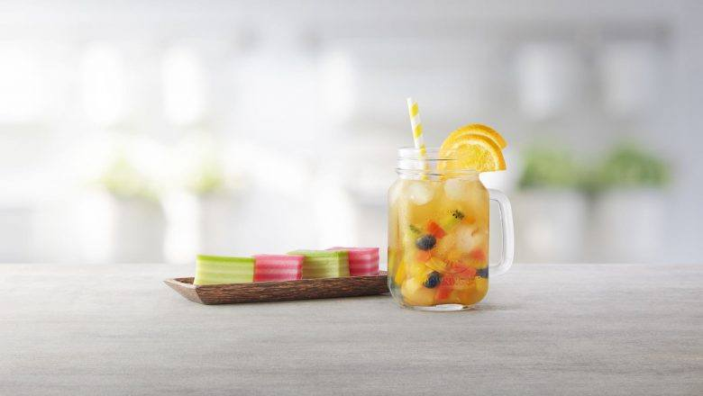Rainbow Mixed Fruit Tea